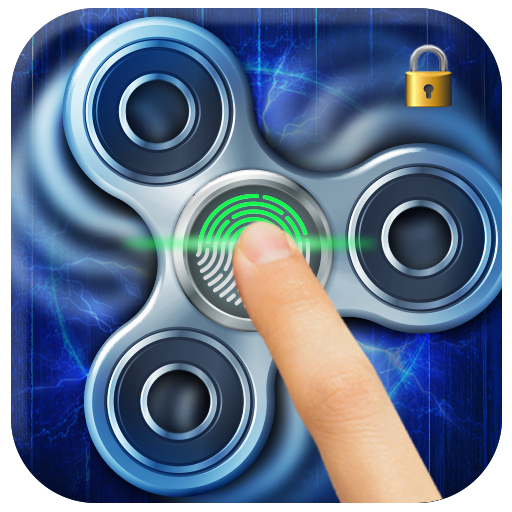 Fidget Spinner Fingerprint Lockscreen