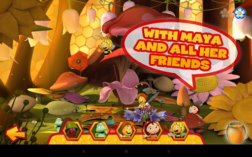 Maya the Bee: Flowerparty Lite