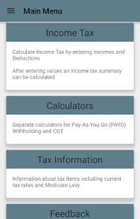 Aussie Tax Calculator Free- screenshot thumbnail