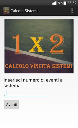 Calcolo Vincita Sistemi