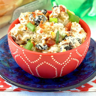 Potato Salad With Cream Cheese And Bacon Recipes.