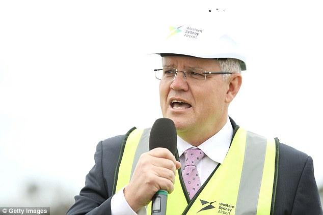 'I'm going to legislate it next week, because small and family businesses deserve to have the support of this plan,' Mr Morrison said