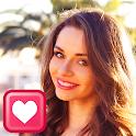 聊天和约会应用程序 icon