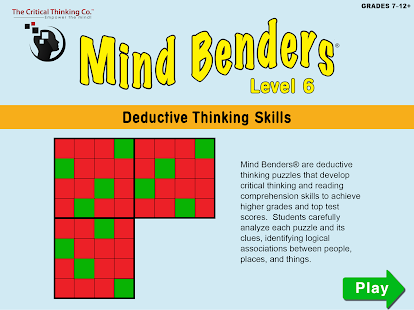Mind Benders® Level 6- screenshot thumbnail