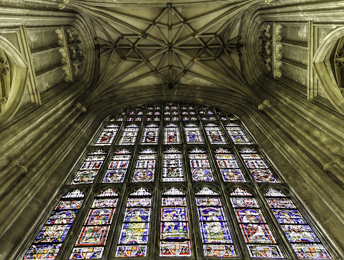 Painted Glass Windows by Charles Ong - Buildings & Architecture Places of Worship ( 574,  )