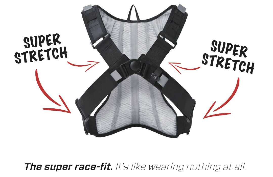 NDM Race Harness Features