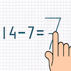 Subtraction Math Trainer icon