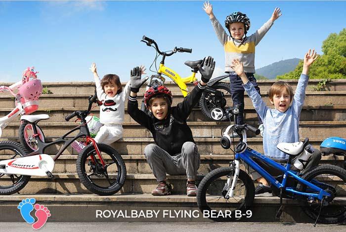 Xe đạp trẻ em Royal Baby Flying Bear b-9 18