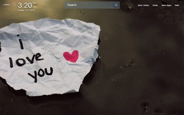 Quotes About Love Wallpapers Theme New Tab