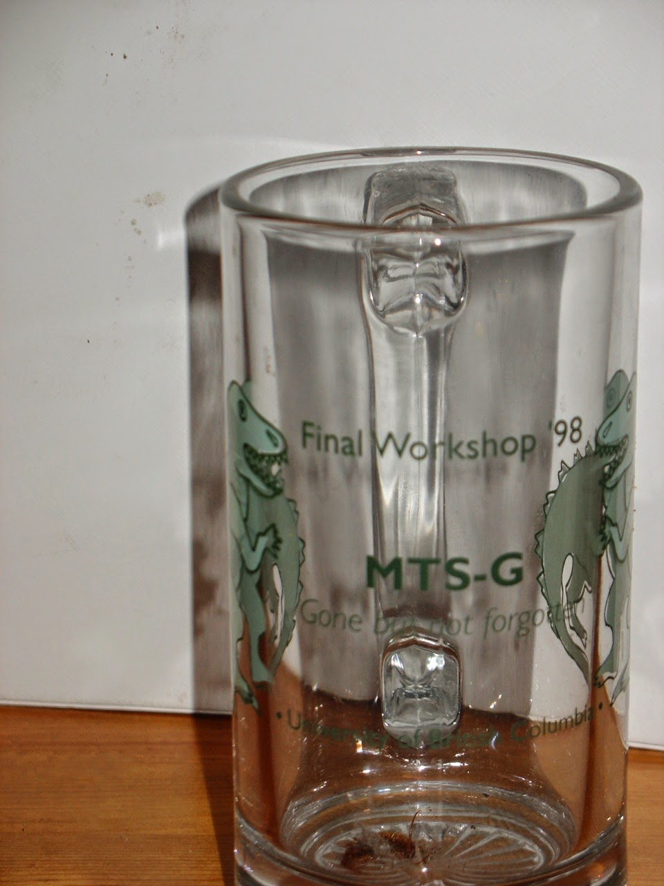 Photo: MTS-G Gone but not forgotten, Final Workshop 1998 at UBC