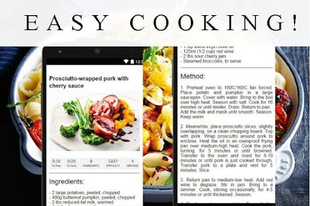 Dinner recipes screenshot 2