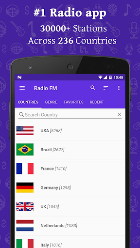Radio FM 12.6 screenshots 2