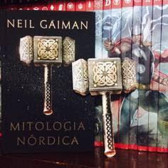 fotos e livros mitologia nordica neil gaiman