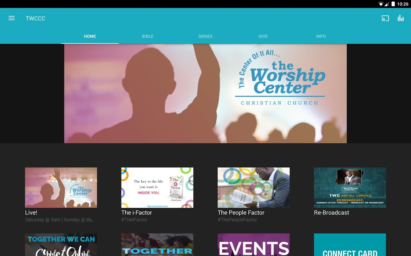 The Worship Center- screenshot