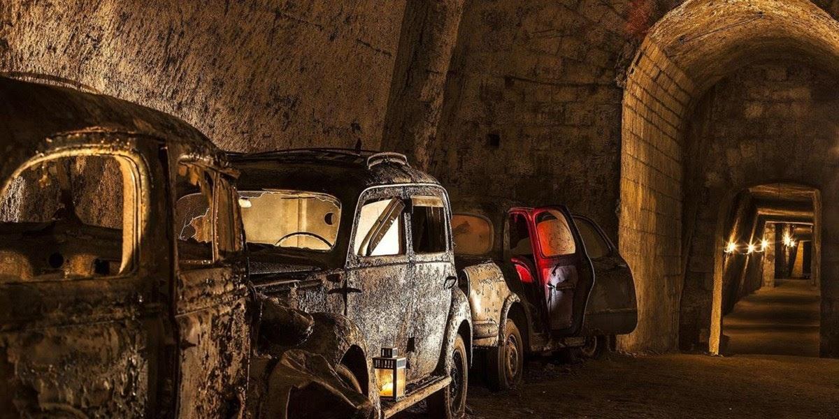 Bourbon, os túneis esquecidos de Nápoles