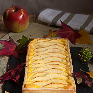 Apple Custard Tart - Serves 6