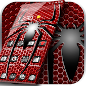 Red Metal Spider Theme