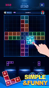Download Glow Block Puzzle: Free Color Jewel Games 2019 For PC Windows and Mac apk screenshot 3