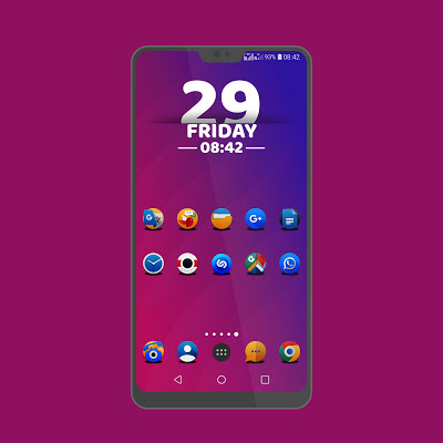 PixxR2 icon pack Screenshot Image