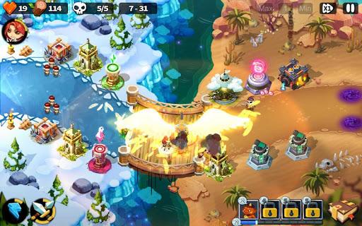 Hero Defense King 1.0.3 screenshots 21