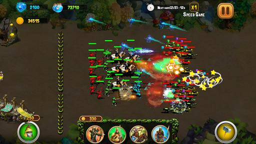 StickMan Defense War - Empire Hero & Tower Defense android2mod screenshots 5