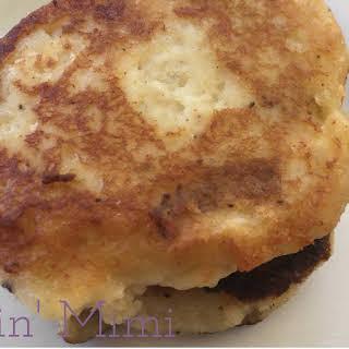 Easy Mashed Potato Cakes.