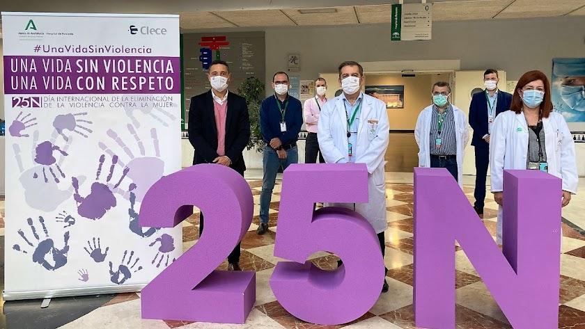 Uno de los actos organizados en el Hospital de Poniente.
