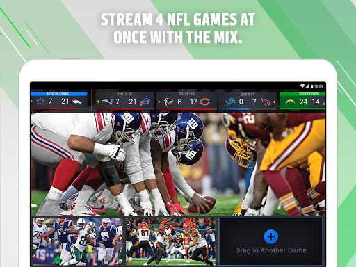 NFL Sunday Ticket for Tablets Screenshot