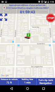 ParkBuddy - GPS Parking Timer screenshot 1
