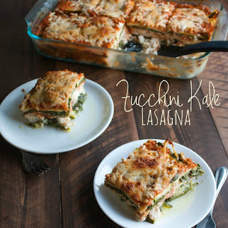 Zucchini and Kale Lasagna {naturally gluten-free}