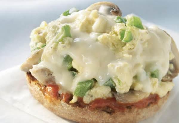 Egg And Mozzarella Breakfast Pizza Recipe