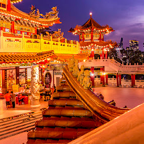 Thean Hou temple in Kuala Lumpur, Malaysia by Edwin Ng - Buildings & Architecture Places of Worship ( temple, thean hou, malaysia, kuala lumpur, chinese )