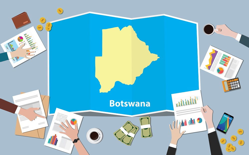 Botswana verlaag die normkoers tot rekord laag