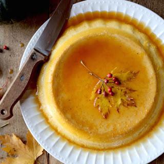Pumpkin Maple Crème Caramel