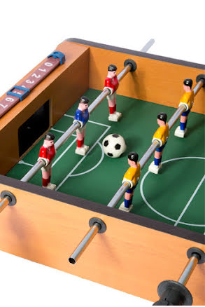 Fotbollsspel, trä