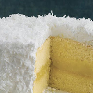 Fresh Lemon-Coconut Cake