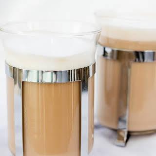 Vanilla French Press Cappuccino.