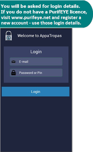 PurifEYE AppaTropas AppLock 291 Screenshots 1