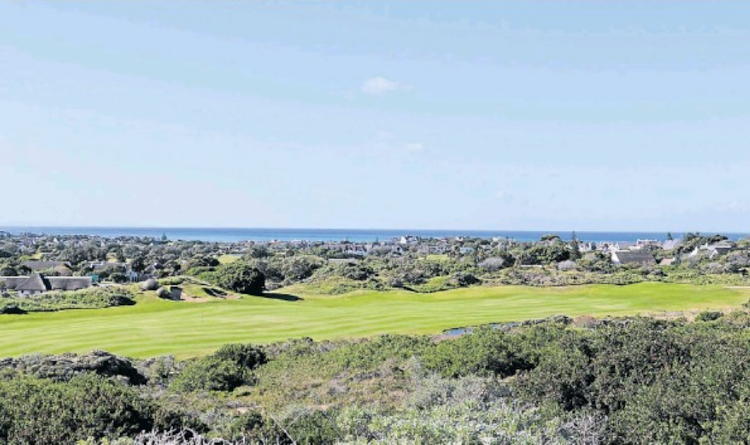 The proposed spot for the R60-million five-star hotel at the St Francis Links