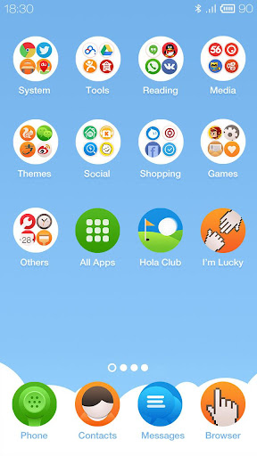 Picnic Hola Launcher Theme|玩個人化App免費|玩APPs
