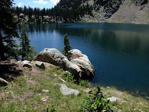 Photo: Lake Katherine - cold and deep
