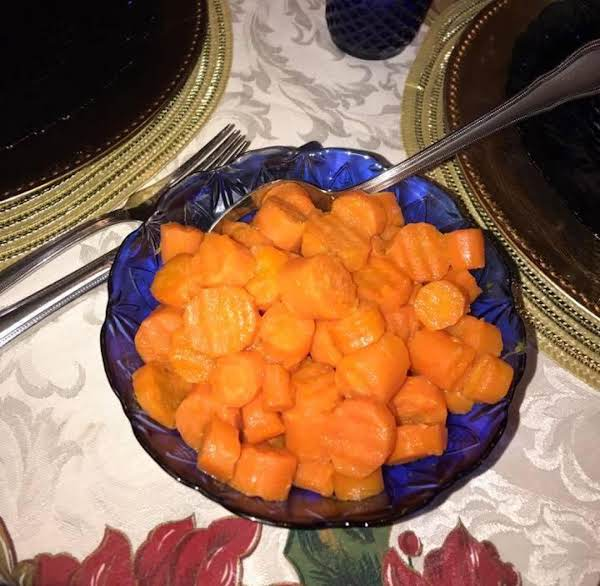 Honey Orange Glazed Carrots Recipe