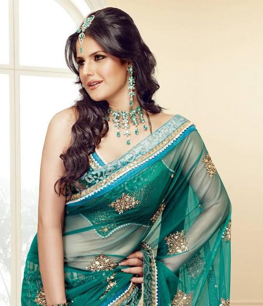 Zareen Khan in green saree, Zareen Khan age, Zareen Khan profile