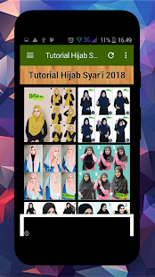 Hijab Syar'i Tutorial - náhled