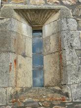 Photo: Ventana del altar mayor con los datos de la fecha de restauración (1714) - boletín 117