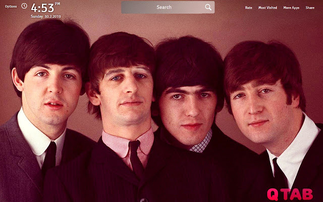 The Beatles Wallpapers The Beatles New Tab Chrome Web Store