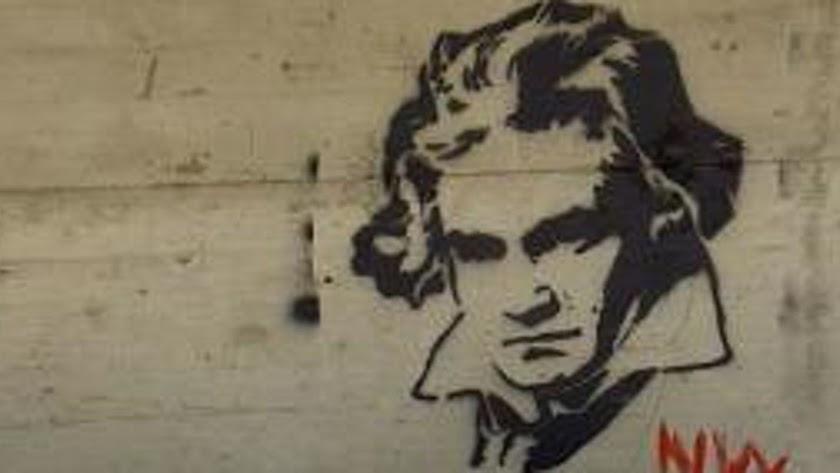 Graffiti de Beethoven