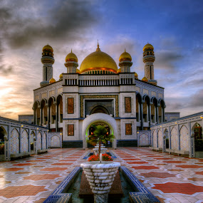 Jame'Asr by Mohamad Sa'at Haji Mokim - Buildings & Architecture Places of Worship ( landmark, building, mosque, architecture, worship )
