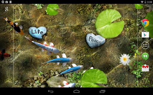 Koi Free Live Wallpaper 1.9 screenshots 8