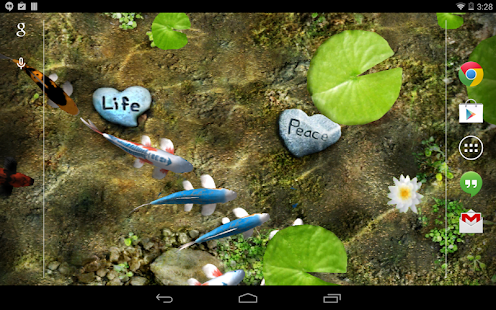 Koi Live Wallpaper Gratis Screenshot